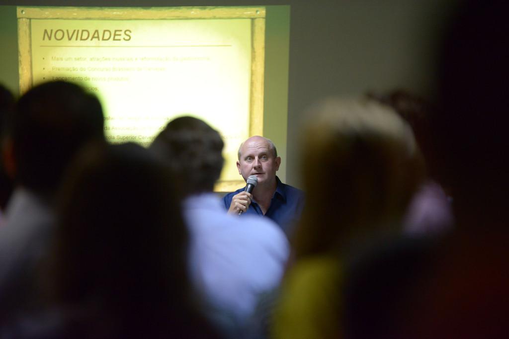 Ricardo Stodieck falou sobre as novidades do evento | Imagem: Daniel Zimmermann