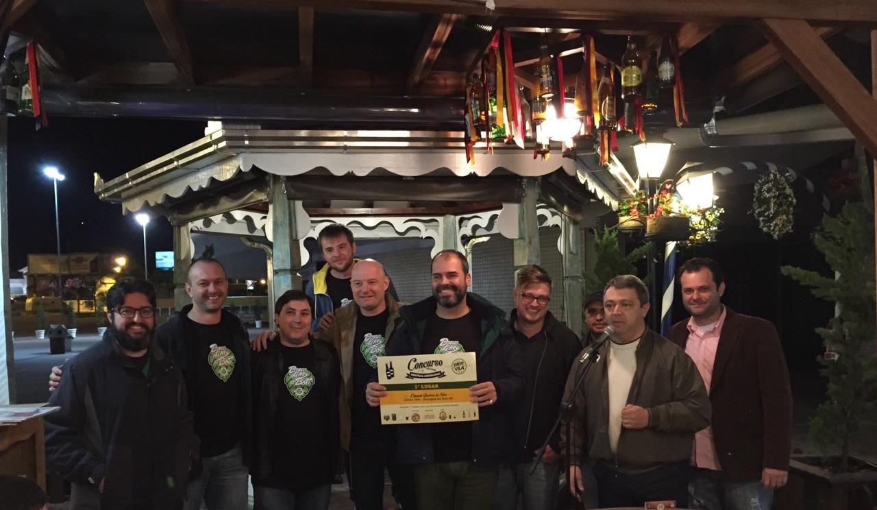 Cervejeiro de Jaraguá do Sul vence o 1º Concurso Cerveja Artesanal Bier Vila