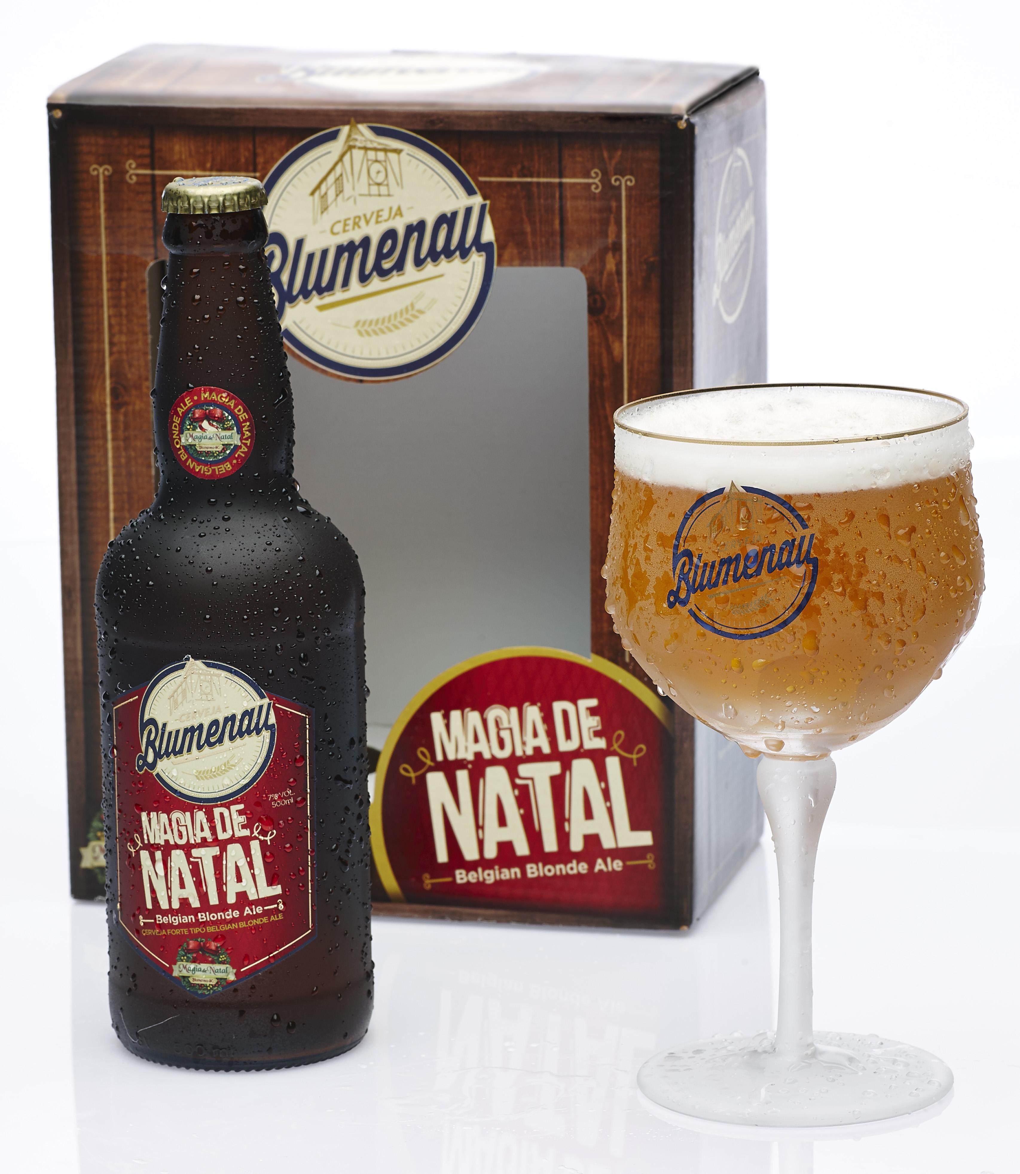 Edição limitada da Cerveja Blumenau para o Natal já está à venda