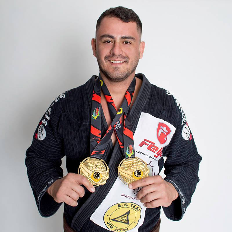 Edgar Guimarães disputa título no Campeonato Europeu de Jiu Jitsu na próxima semana em Portugal Imagem: Divulgação