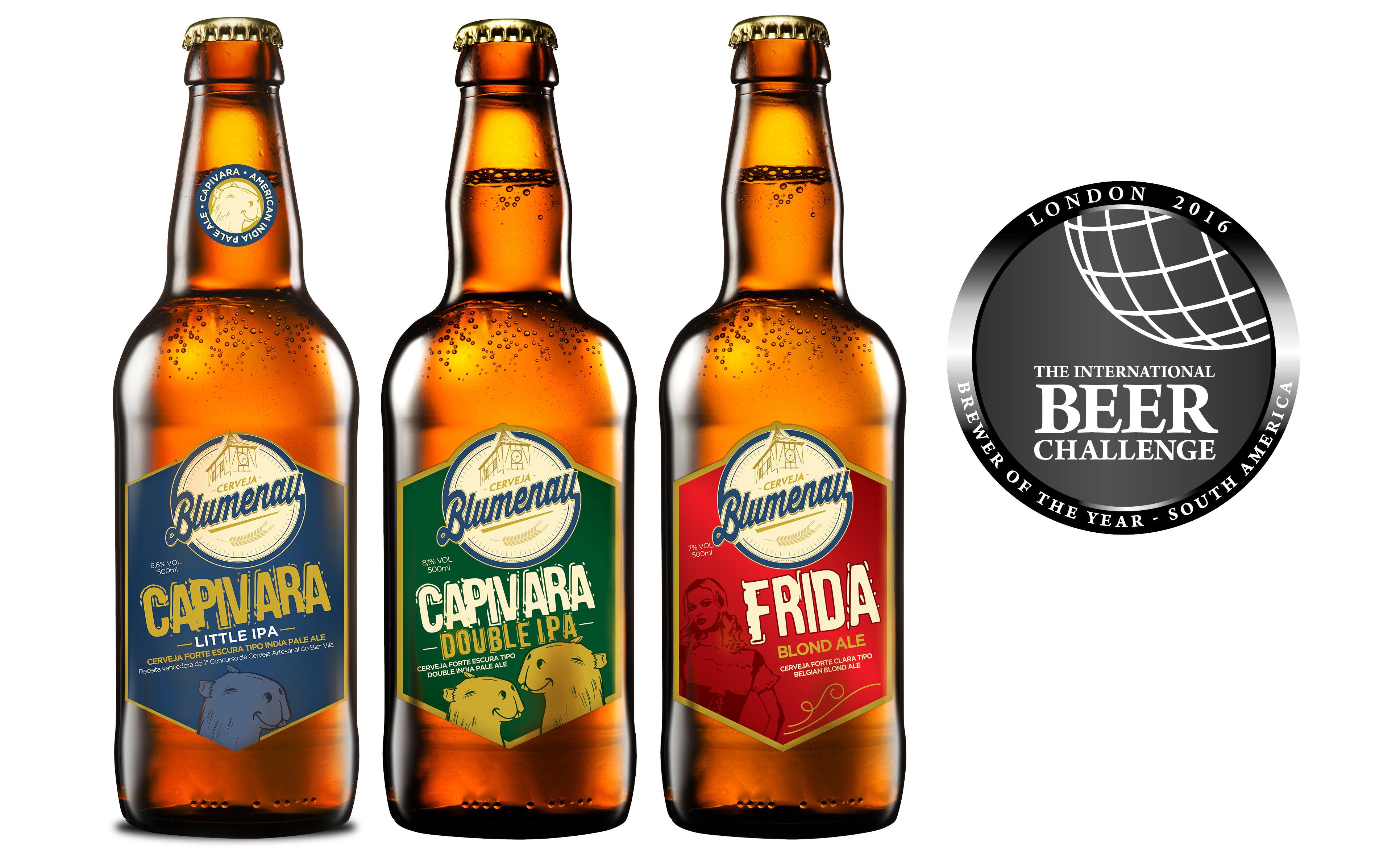 Cerveja Blumenau é eleita Cervejaria do Ano – América do Sul no International Beer Challenge 2016