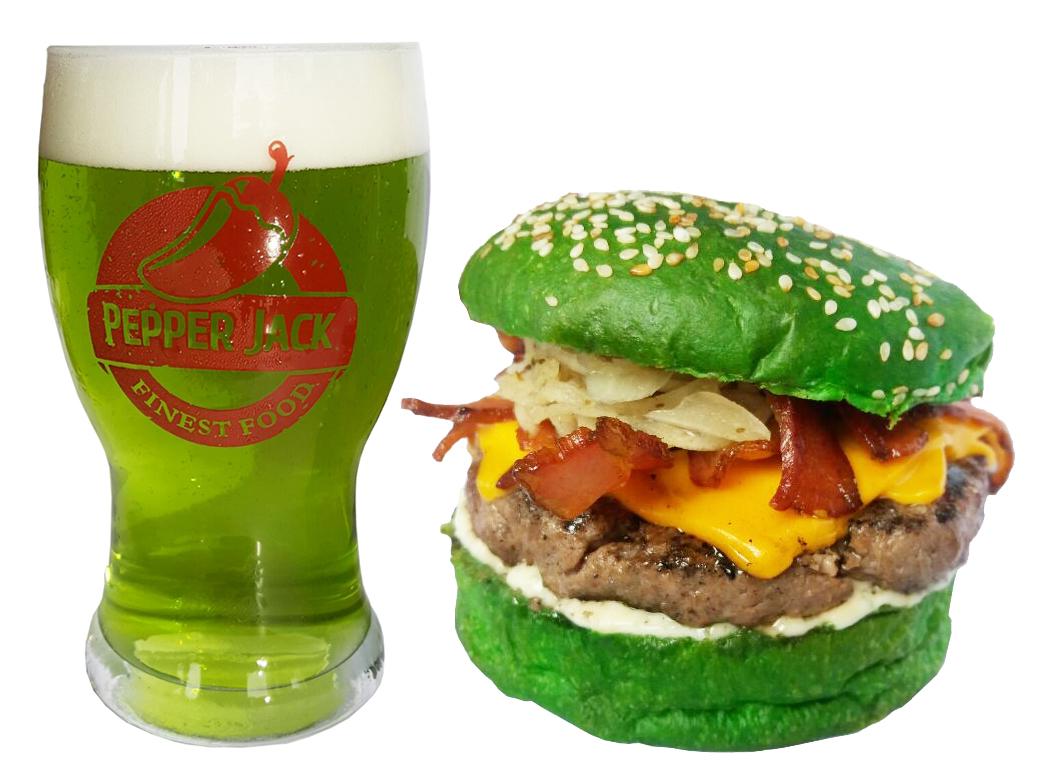 Cerveja e pão verde marcam o Saint Patrick's Day no Pepper Jack
