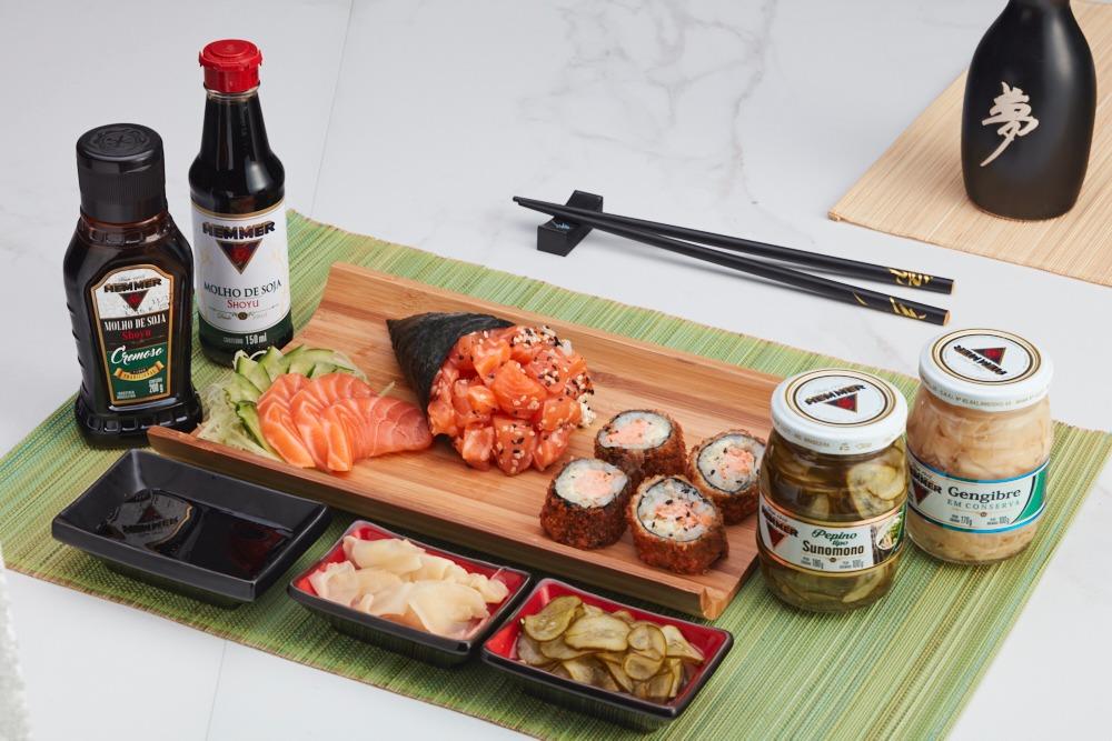 Gastronomia oriental é inspiração para lançamentos da Hemmer
