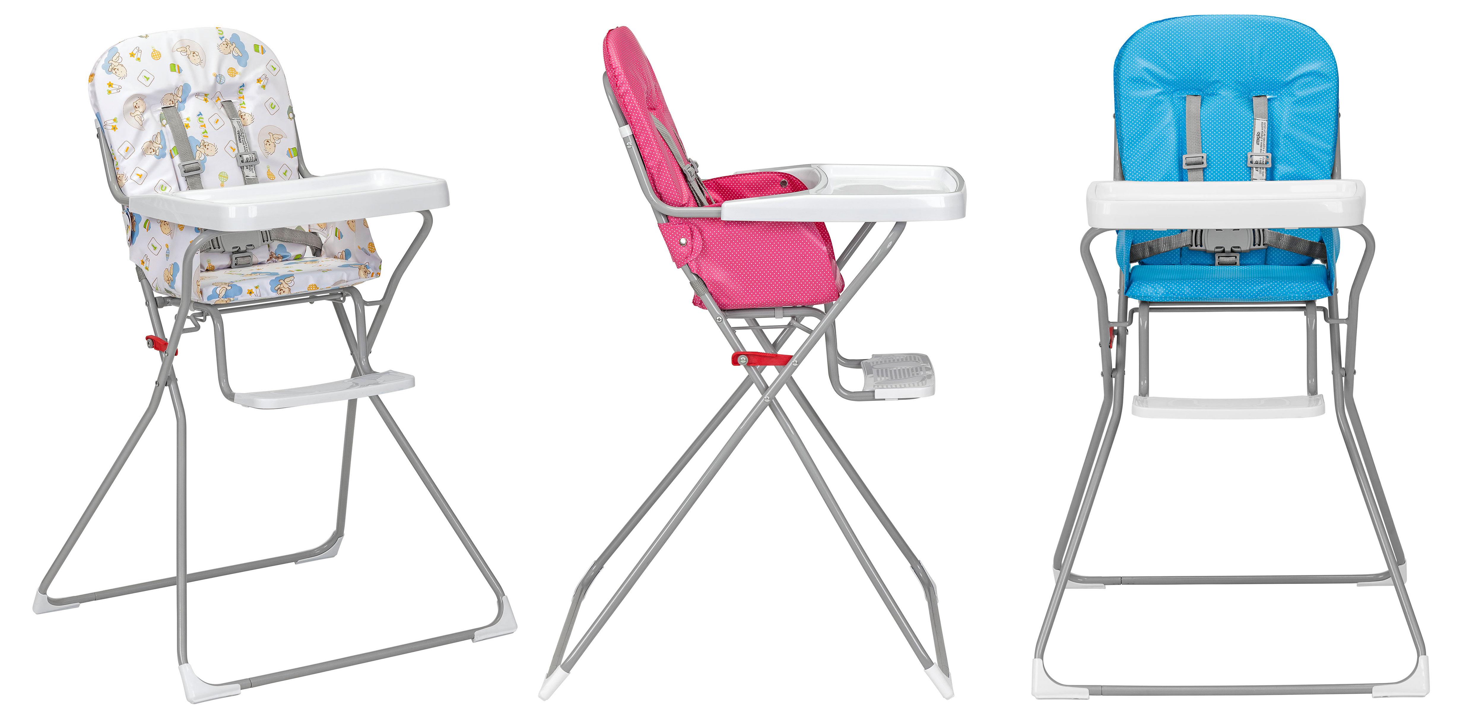 Cadeira de refeição Bambini é novidade no mix da Tutti Baby