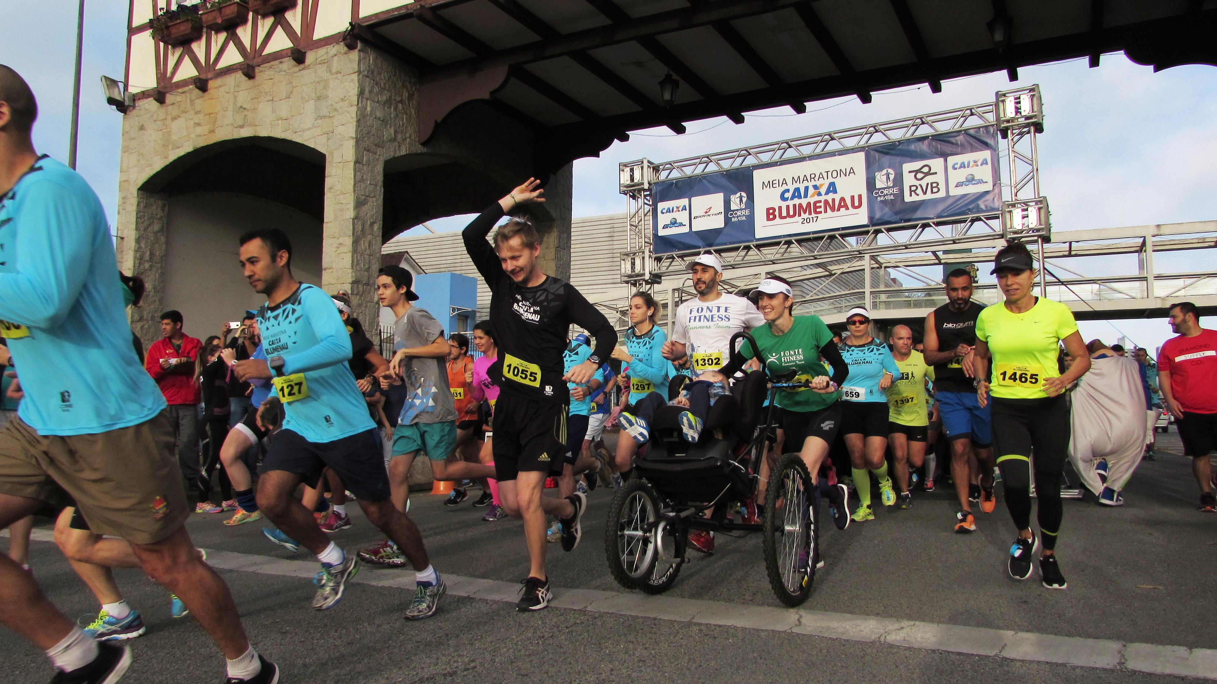 Meia Maratona de Blumenau (SC) acontece no dia 15 de julho