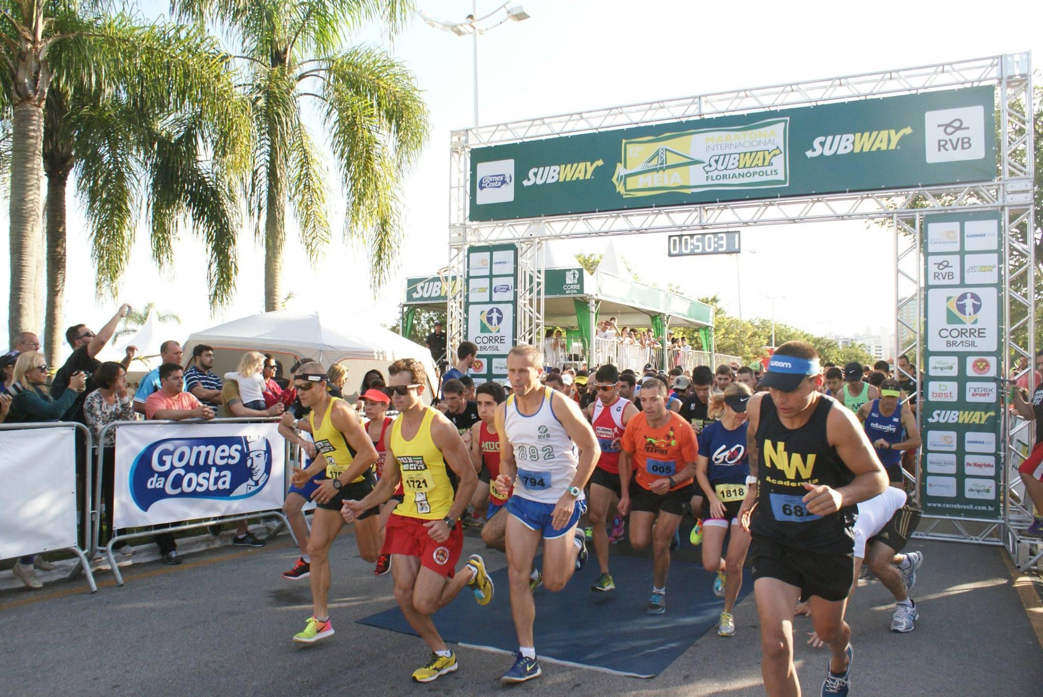 Meia Maratona Internacional de Florianópolis acontece neste domingo (19)