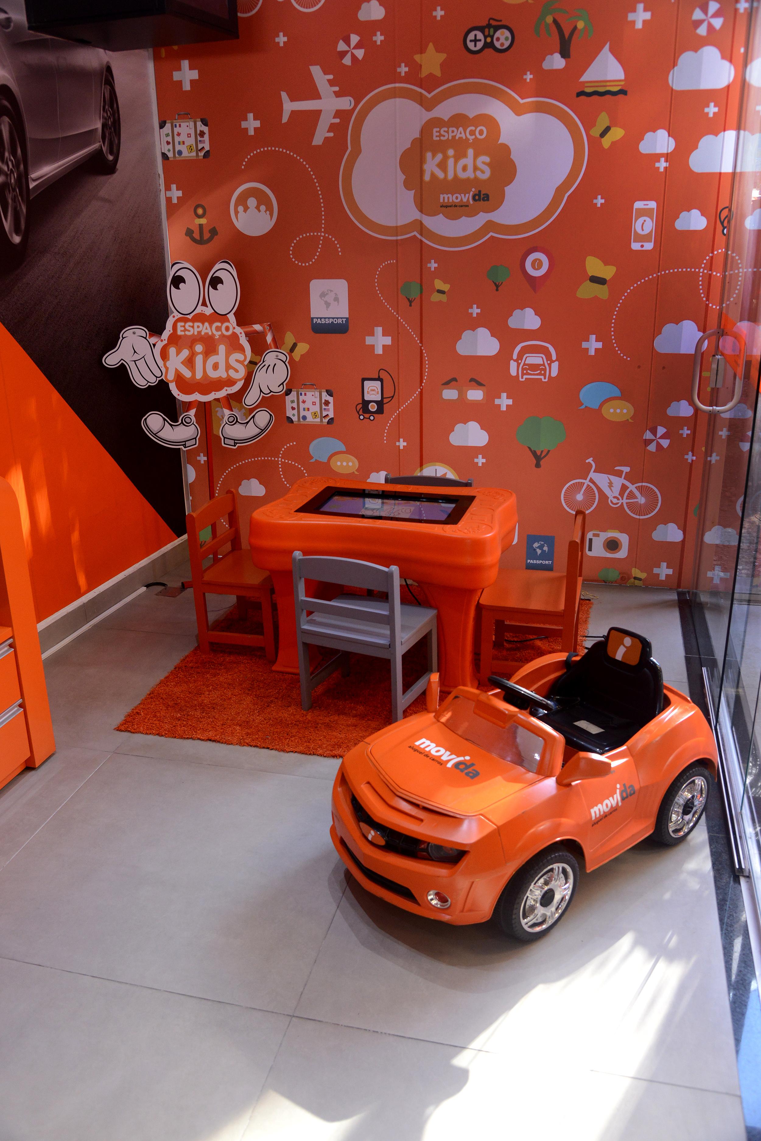 Movida aposta em tecnologia para espaços recreativos suas lojas