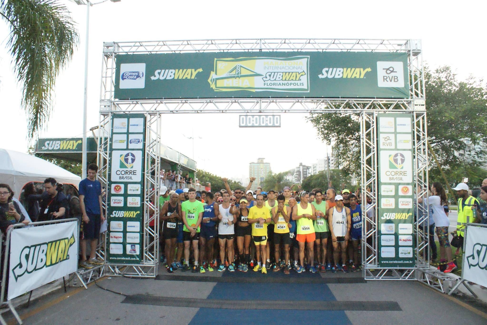 Meia Maratona Internacional de Florianópolis (SC) terá largada em ondas