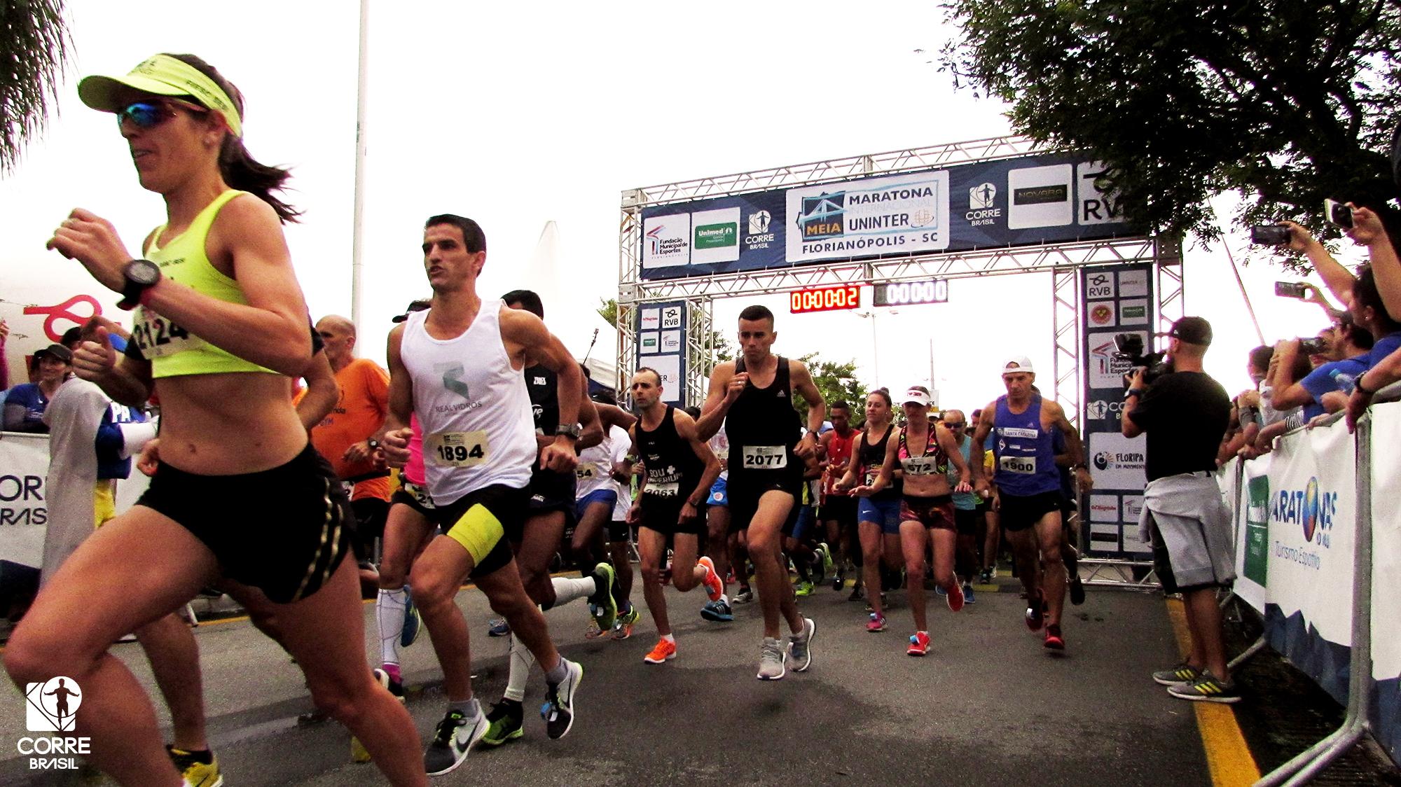 Meia Maratona Internacional de Florianópolis trará mais de 100 atletas estrangeiros para a capital catarinense