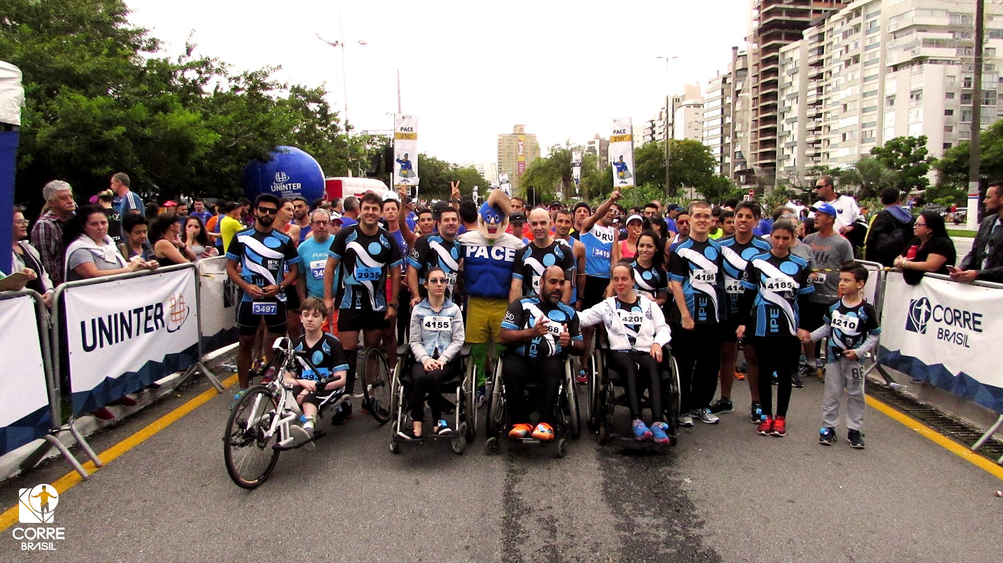 Mais de 50 portadores de necessidades especiais participarão da Meia Maratona de São José (SC)