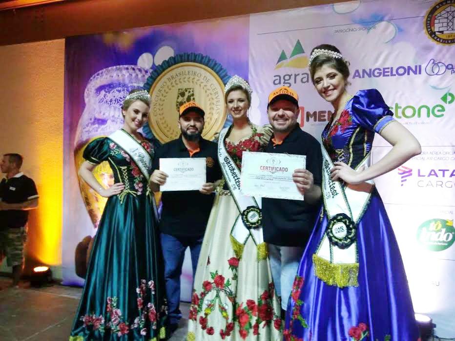Cervejaria Antídoto ganha duas medalhas no Concurso Brasileiro de Cervejas
