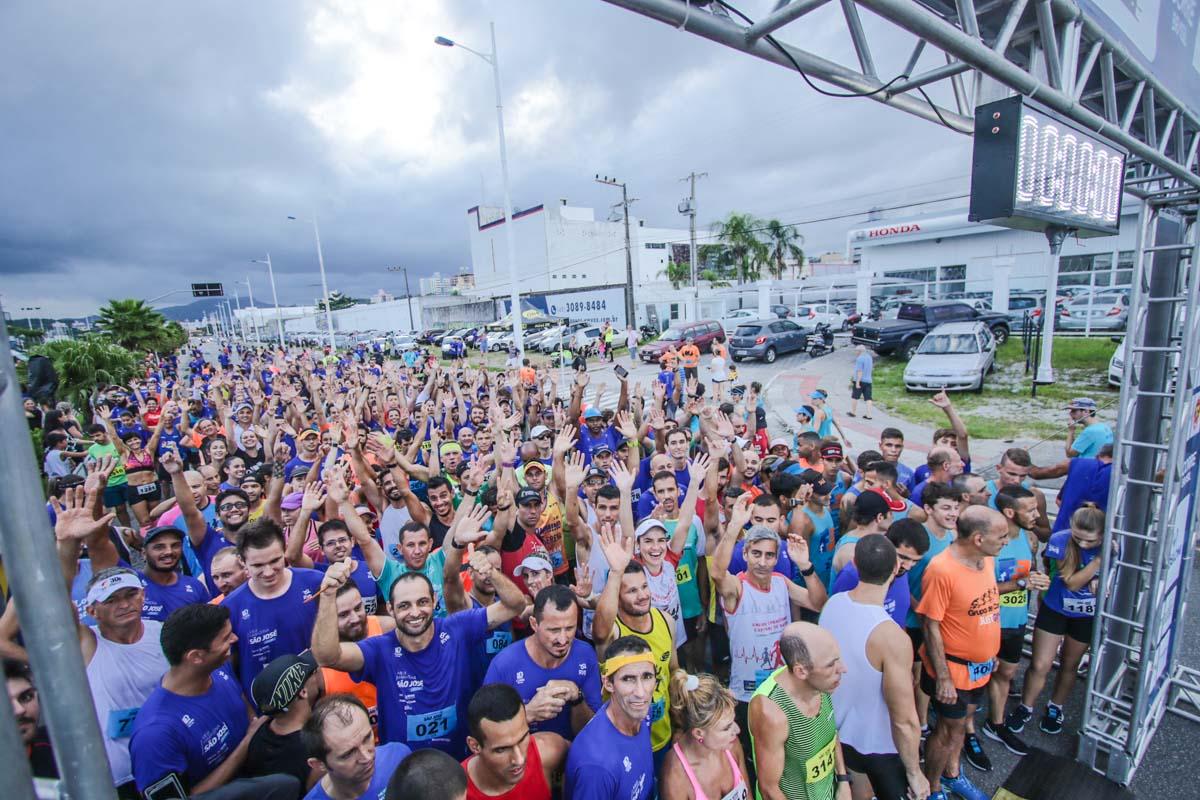 Meia Maratona de São José (SC) levou esporte e inclusão para as ruas da cidade