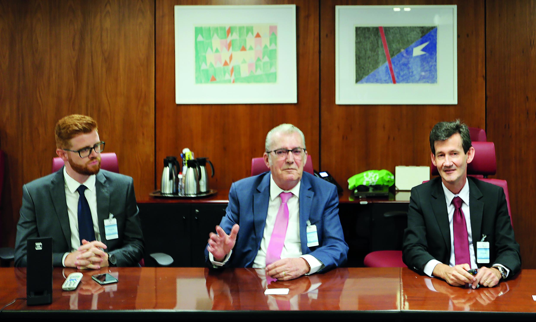 Dirigentes do Sistema Cecred se reúnem com diretoria do Banco Central para apresentar diretrizes da instituição