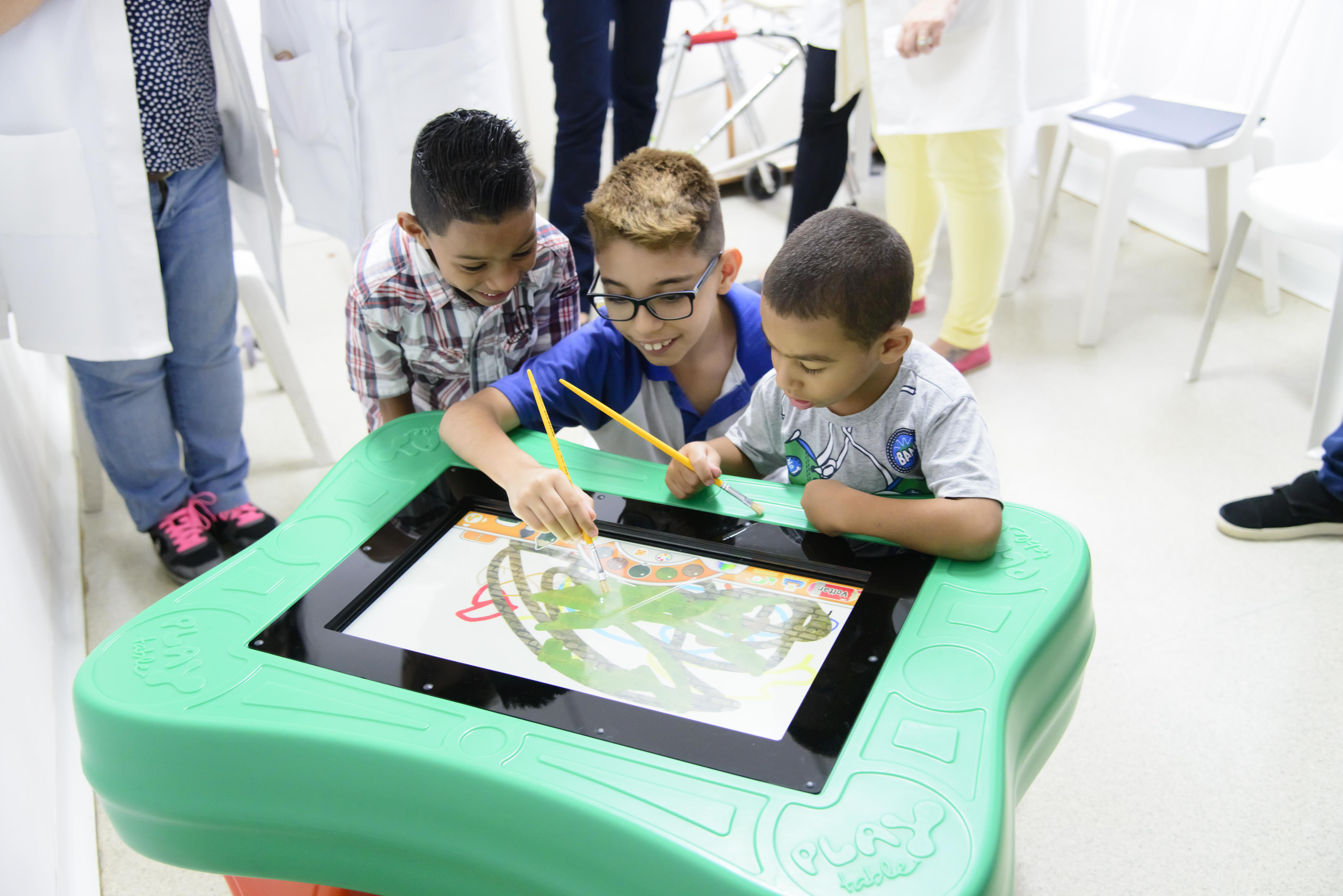 Games interativos para pedagogia hospitalar são destaques da Hospitalar 2018