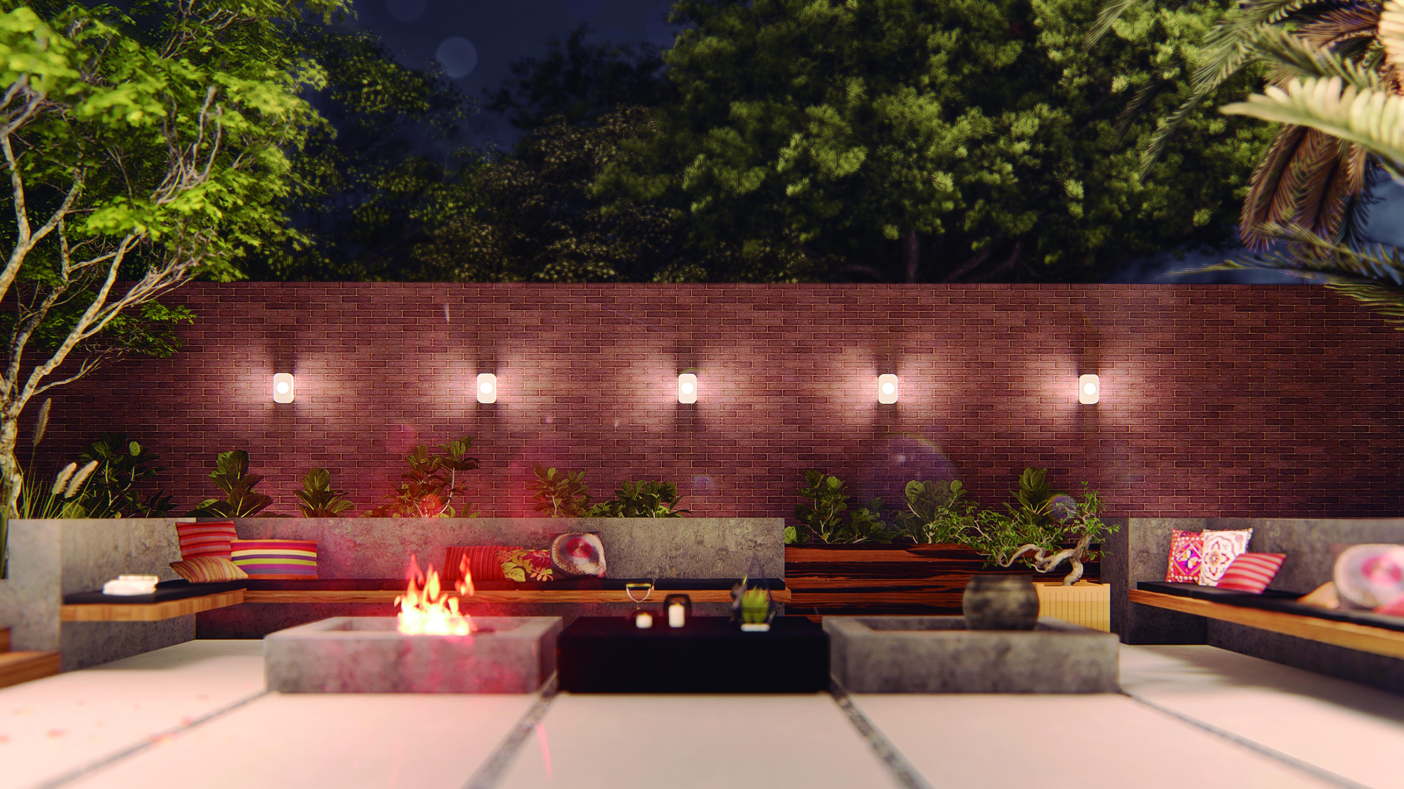 Eliege Lounge e Raquel Brocco criam arandela para marca especializada em iluminação externa