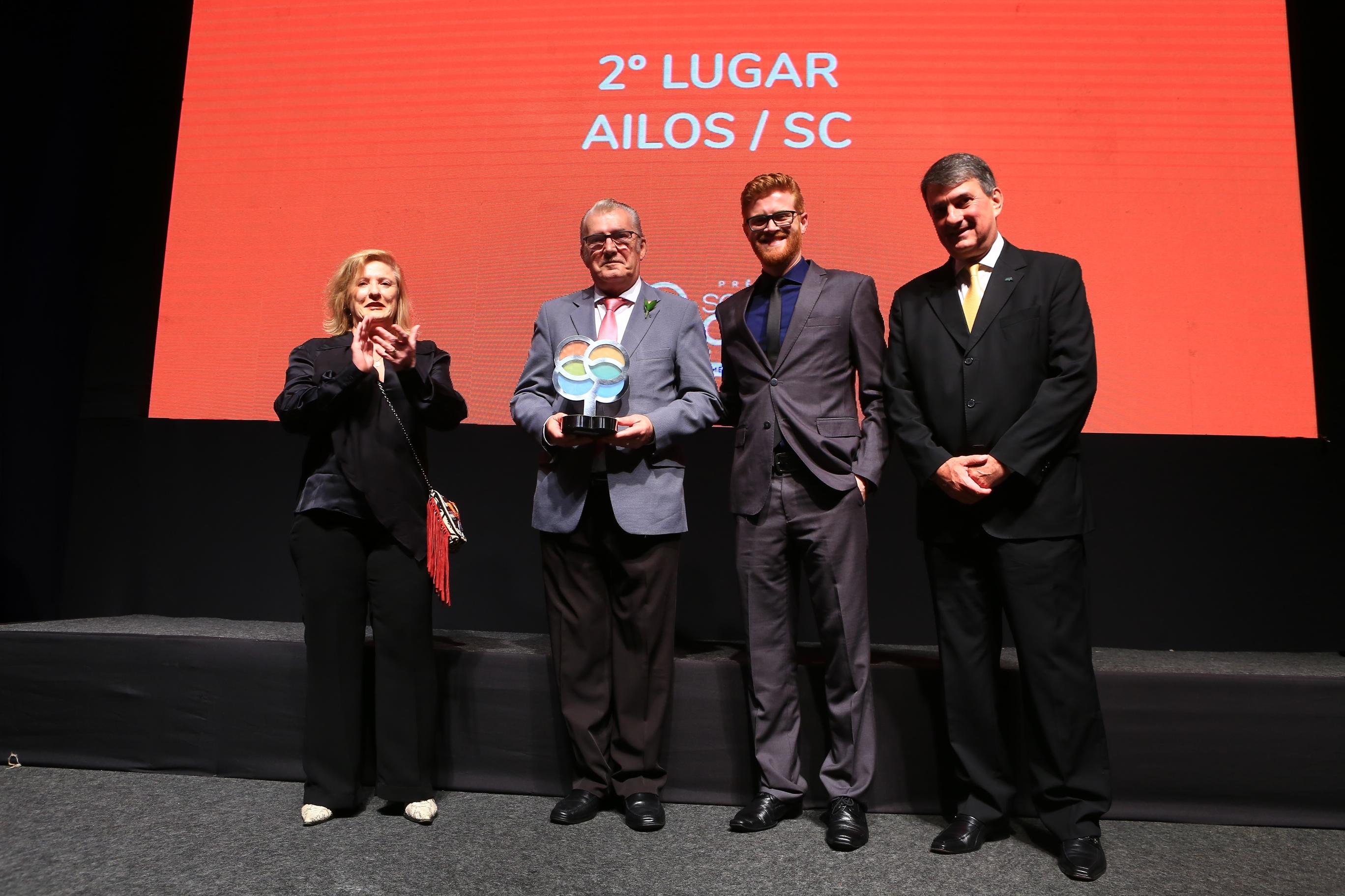 Sistema Ailos recebe Prêmio SomosCoop, que reconhece iniciativas nacionais de cooperativismo