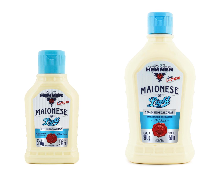 Sem glúten, zero lactose e agora light: Hemmer lança nova maionese